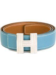 ремень со сменной пряжкой 'H'  Hermès Vintage