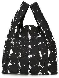 сумка-тоут с принтом брызг краски Mm6 Maison Margiela