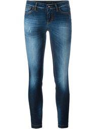 укороченные джинсы кроя скинни   Dolce & Gabbana