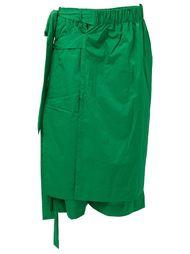 многослойные шорты с запахом Craig Green