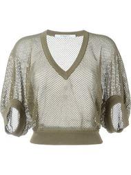 Сетчатый свитер Givenchy