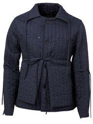 стеганая куртка с полосатой отделкой Craig Green