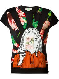 толстовка с вышивкой портрета Stella McCartney