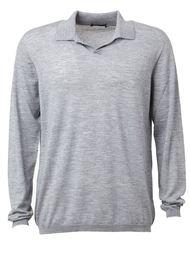 футболка-поло с длинными рукавами  Roberto Collina