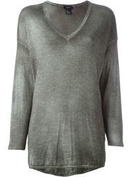 свитер с V-образным вырезом Avant Toi