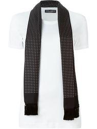 футболка с шарфом в горох Dolce & Gabbana