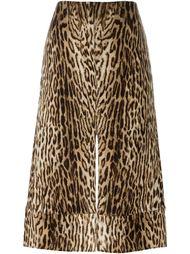 леопардовая юбка Chloé