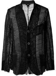 трикотажный пиджак с необработанными краями Avant Toi