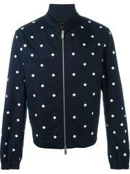 куртка-бомбер с вышивкой клиновых листьев Dsquared2