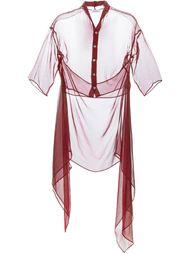 прозрачная блузка Romeo Gigli Vintage