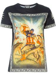 футболка с принтом Captain America Fausto Puglisi
