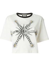 футболка с принтом солнца Fausto Puglisi