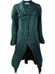 гофрированное пальто Issey Miyake