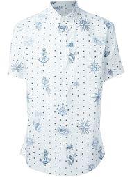рубашка с принтом в стиле татуажа Alexander McQueen