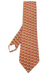 тканый галстук Hermès Vintage