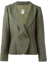 Пиджак с закругленным подолом Emanuel Ungaro Vintage