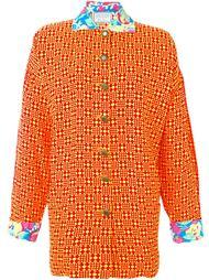 пиджак свободного кроя Versace Vintage