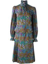 костюм с цветочным принтом Jean Louis Scherrer Vintage
