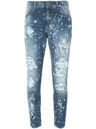 рваные джинсы кроя скинни Marco Bologna