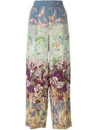 брюки 'Garden Couture' Valentino