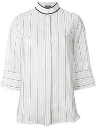 блузка в полоску Salvatore Ferragamo