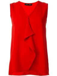 блузка с рюшами Proenza Schouler