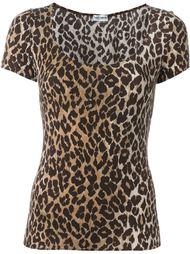 футболка с леопардовым принтом Dolce & Gabbana Vintage