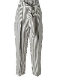 укороченные брюки в полоску 3.1 Phillip Lim