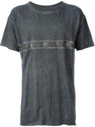 футболка с контрастной полосой Isaac Sellam Experience