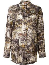 рубашка с принтом джунглей Nº21
