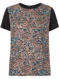 футболка с абстрактным принтом Proenza Schouler