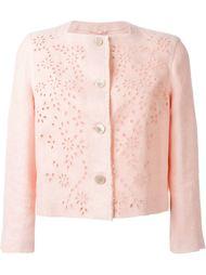 пиджак с цветочным вышитым узором Ermanno Scervino