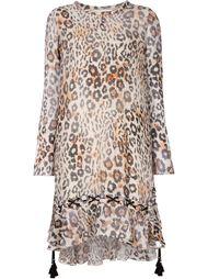 леопардовое платье Chloé