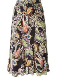 юбка с принтом пейсли  Etro