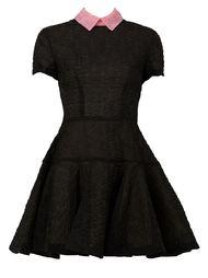 платье 'Brie' с контрастным воротником Alex Perry