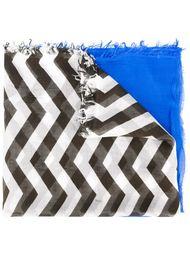 шарф с принтом шеврон Dondup