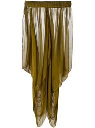 драпированная юбка Romeo Gigli Vintage