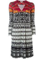 платье с длинными рукавами Etro