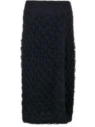 юбка из тюля с разрезом сбоку Jonathan Simkhai