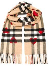 шарф с сердцами 'Haymarket' Burberry
