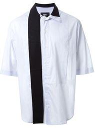 рубашка с контрастными деталями Yang Li