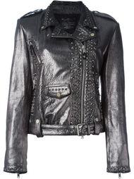 декорированная байкерская куртка с люверсами Htc Hollywood Trading Company