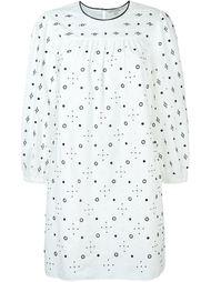 платье-шифт с люверсами Marc Jacobs