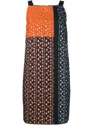 жаккардовое платье с вышивкой Osman