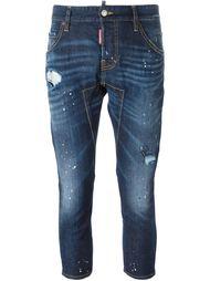 укороченные джинсы Dsquared2