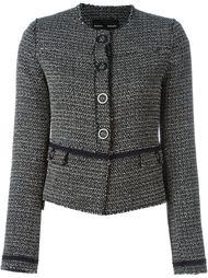 твидовый пиджак с бахромой Proenza Schouler