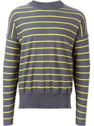 свитер в полоску Ami Alexandre Mattiussi