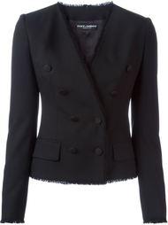 двубортный пиджак с запахом Dolce & Gabbana