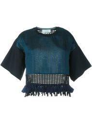 укороченная блузка с бахромой 3.1 Phillip Lim