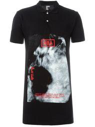 футболка-поло с принтом  Hood By Air